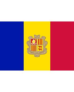 Fahne: Andorra