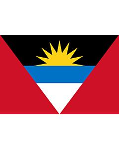 Fahne: Antigua und Barbuda