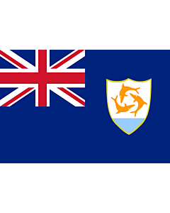 Fahne: Anguilla