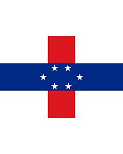 Fahne: Niederländische Antillen