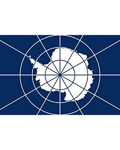 Fahne: Antarctic Treaty | Tratado Antártico