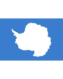 Fahne: Antarktis