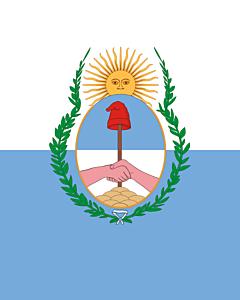 Fahne: Mendoza (Provinz)