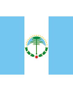 Fahne: Neuquén (Provinz)