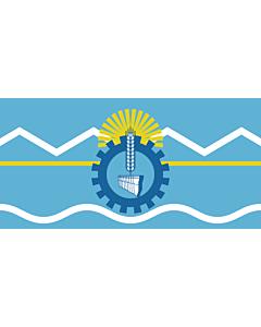 Fahne: Chubut (Provinz)