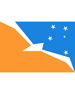Fahne: Tierra del Fuego (Provinz)