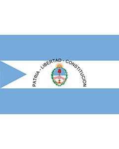 Fahne: Corrientes (Provinz)