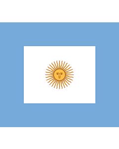 Fahne: Naval Jack of Argentina