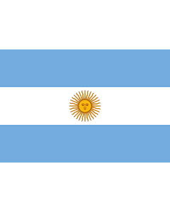 Fahne: Argentinien