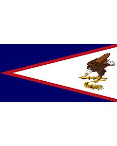 Fahne: Amerikanisch-Samoa