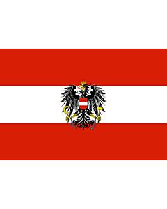 Fahne: Österreich