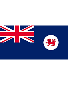 Fahne: Tasmanien