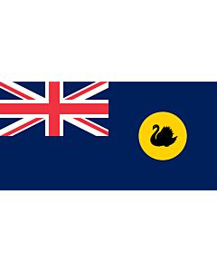 Fahne: Westaustralien