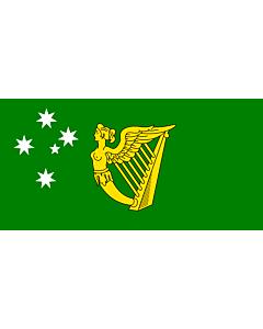 Fahne: Australian Irish heritage