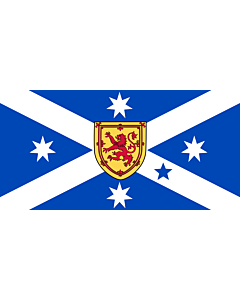 Fahne: Australian Scottish-heritage | Scottish Australian