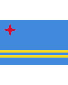Fahne: Aruba