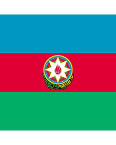 Fahne: Standard of the President of Azerbaijan
