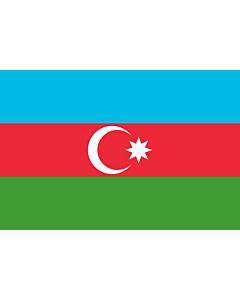 Fahne: Aserbaidschan