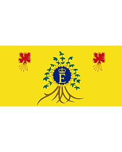 Fahne: Royal Standard of Barbados | Queen Elizabeth II s personal flag for use in Barbados
