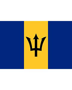 Fahne: Barbados