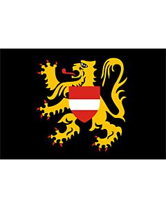 Fahne: Flämisch-Brabant