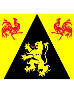 Fahne: WallonienBrabant