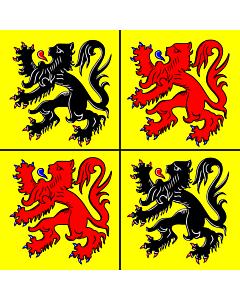 Fahne: Hennegau