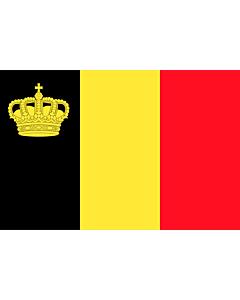 Fahne: Belgium yacht ensign