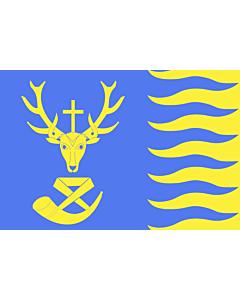 Fahne: Saint-Hubert, Belgium | Saint-Hubert  Belgique | Vlagge van Saint-Hubert