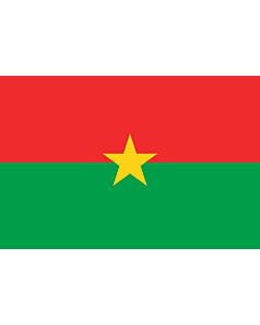 Fahne: Burkina Faso