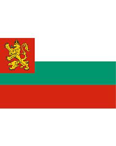 Fahne: Naval Ensign of Bulgaria 1878-1944
