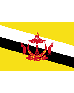 Fahne: Brunei Darussalam