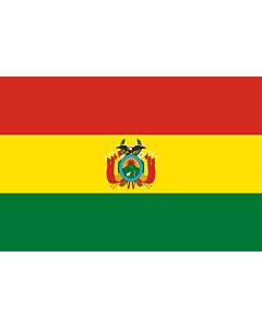 Fahne: Bolivien