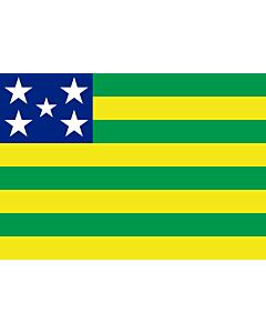 Fahne: Goiás