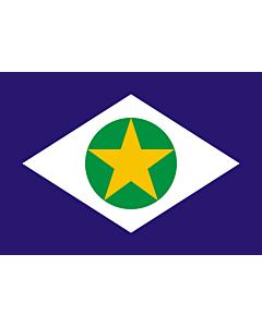 Fahne: Mato Grosso
