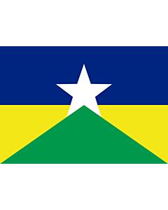Fahne: Rondônia