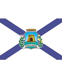 Fahne: Fortaleza Ceara Brasil