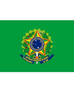 Fahne: Presidential Standard of Brazil | Presidential Flag of Brazil