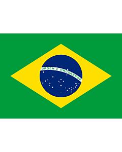 Fahne: Brasilien