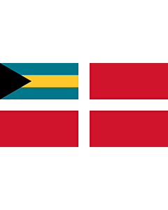 Fahne: Civil Ensign of the Bahamas
