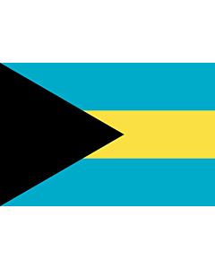 Fahne: Bahamas