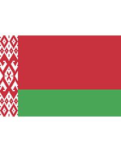 Fahne: Belarus (Weissrussland)