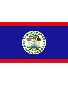 Fahne: Belize