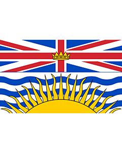 Fahne: British Columbia