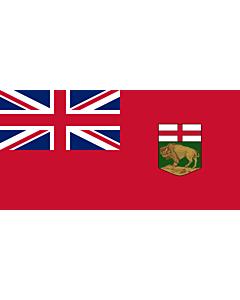 Fahne: Manitoba