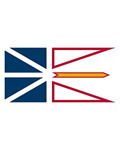 Fahne: Neufundland und Labrador