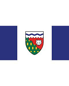 Fahne: Nordwest-Territorien