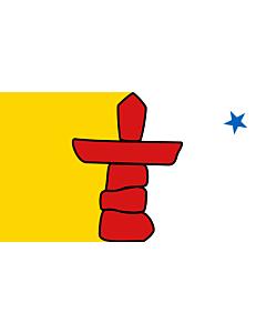 Fahne: Nunavut