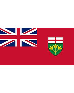 Fahne: Ontario