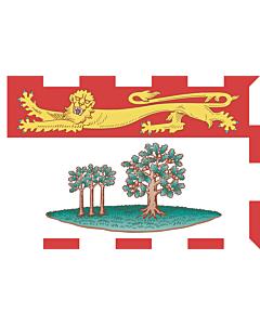 Fahne: Prince Edward Island